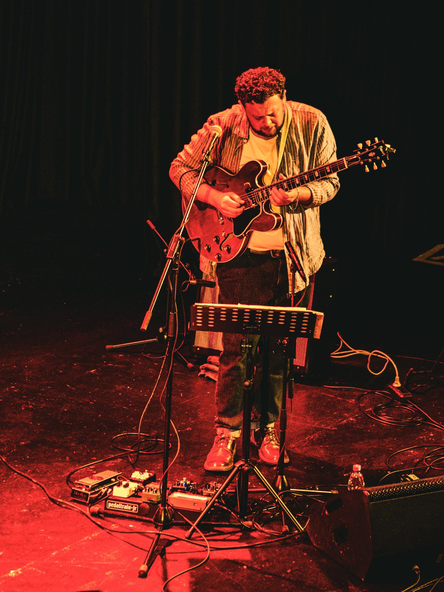 Christoph Neuhaus mit Ramblin Bird